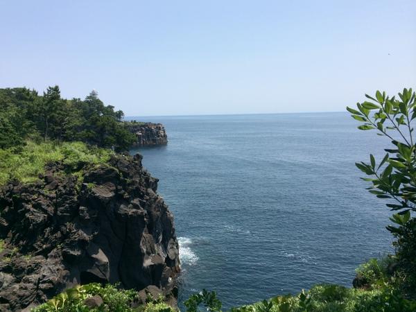城ヶ崎海岸と門脇吊橋