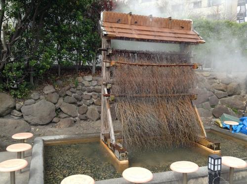 ひょうたん温泉 湯雨竹