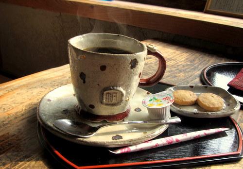 コーヒー(尾道名物じゃこクッキー付き)