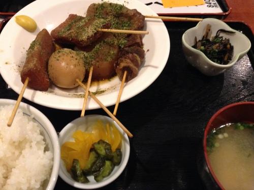 静岡おでん定食