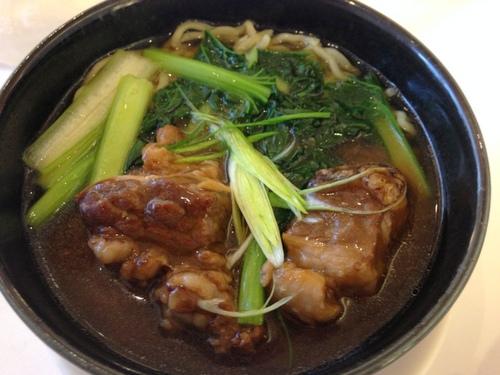 牛バラ肉つゆ麺